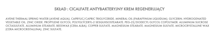 skład cicalfate